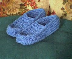 Easy Crochet Adult Slippers | ... information about Free Patterns Crochet Slippers on the site: http