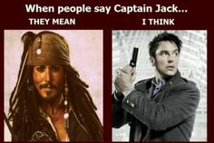 Doctor Who | Captain Jack | Ommmgoosshh! I thought of Harkness, ugh! | BBC's Torchwood