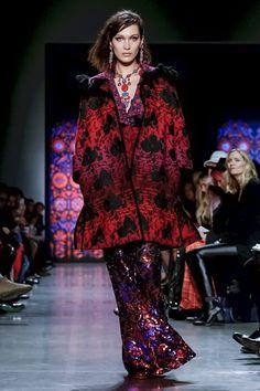 Anna Sui Ready to Wear Fall Winter 2018 New York                                           #AnnaSui #NFW #newyorkfashionweek #readytowear #runway #fashion
