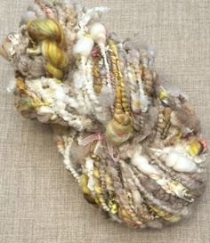 Hand spun art yarn by Pinki Punki