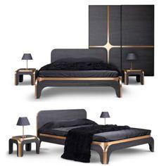 Iată şi varianta pe negru a dormitorului Grace! O splendoare! www.dbmobil. ro