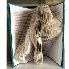 Book Folding/Bookfolding Bookami® Pattern Psuh It 383 by Bookami