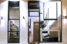 #Cafeteria #moderno #contract via @planreforma #accesorios #fachada #vidrio #iluminacion #ventanas