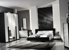 Find This Pin And More On Master Bedroom. Black And White Furniture Bedroom