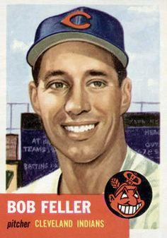 54 - Bob Feller DP - Cleveland Indians