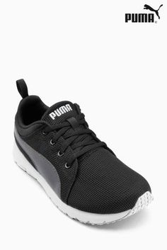 Buy Puma® Black Carson Mesh Trainer from the Next UK online shop