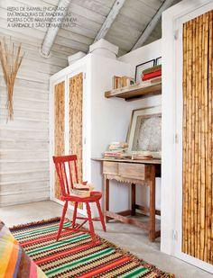 bamboo doors #decor #beach #bamboo