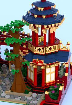 Lego LEGO IDEEN - Produktideen - Chinesischer Garten Natural beauty through mineral makeup. Lego Toys, Lego Duplo, Lego Ninjago, Lego Minifigs, Lego Craft, Lego Modular, Lego Castle, Chinese Garden, Lego Group