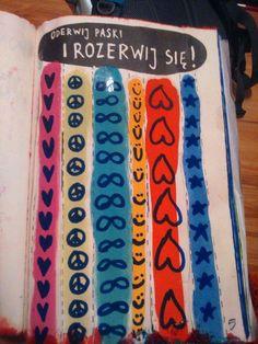 Podesłała Milena Bilińska #zniszcztendziennik #kerismith #wreckthisjournal #book #ksiazka #KreatywnaDestrukcja #DIY
