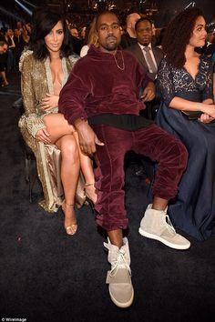 Kim and Kanye on Grammy awards