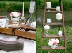 Idée décoration mariage - Romantique chic | Lierre & vous Events