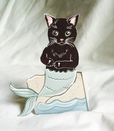 Hey, I found this really awesome Etsy listing at https://www.etsy.com/listing/400574053/black-mercat-desk-decor-paper-doll
