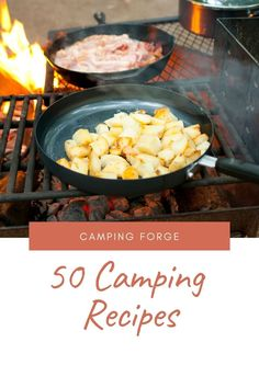 Do you love the great outdoors? Then this is the eBook for you. In it, we've compiled 50 recipes that are perfect for your next camping adventure - from breakfast to dessert! All the best recipes gathered into one place so you don't have to go through dozens of websites for inspiration. Camping Meals, Tent Camping, Camping Hacks, Outdoor Camping, Camping Essentials, Camping Accessories, The Great Outdoors, Good Food, Adventure