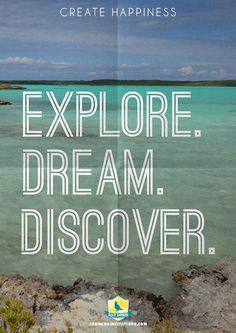 Explore. Dream. Discover. - Twain