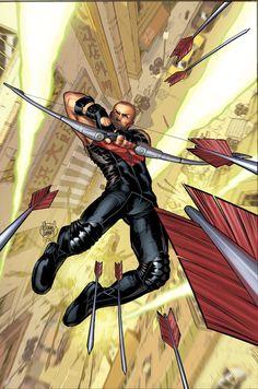 Ultimate Hawkeye. I will be reading this tomorrow and I'm soooooo excited!!!