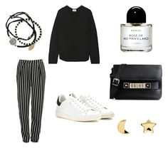 """""""Untitled #37"""" by linasales on Polyvore featuring Glamorous, Acne Studios, Isabel Marant, Proenza Schouler, Byredo, Erica Weiner, Feather & Stone, women's clothing, women and female"""