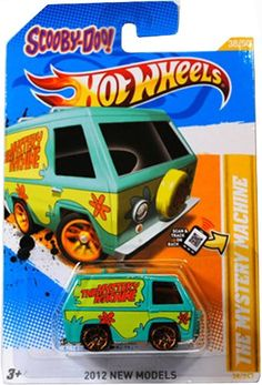 Amazon.com: SCOOBY-DOO! THE MYSTERY MACHINE Hot Wheels 2012 New Models Series #38/50 Scooby Doo Mystery Machine 1:64 Scale Collectible Die Cast Car: Toys & Games
