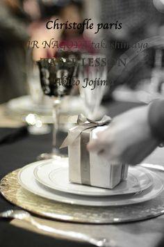 2013 12 クリストフルパリ ×JR名古屋タカシマヤ クリスマス&正月テーブルレッスン  Christofle paris× JR nagoya Takashimaya