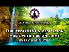 The Heart Of Reiki with Tibetan Chime Every 5 Minutes - YouTube