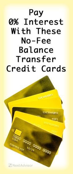 If you're carrying a credit card balance, a balance transfer credit card is a great way save money while you're paying off your debt. Check out the best balance transfer cards at NextAdvisor that charge no balance transfer fee with long 0% interest periods.