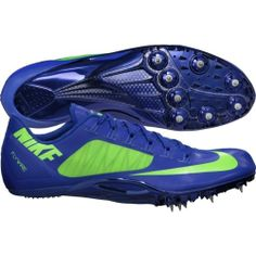 Nike Superfly R4 Blue Mens Track Field Sprint Spikes Shoes w Spikes | eBay