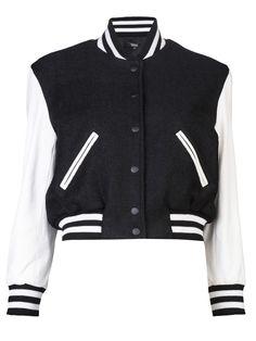 SIMONE BY KATIE NEHRA  Varsity jacket