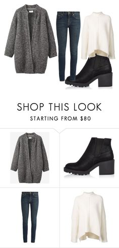 """look"" by yseultdel on Polyvore featuring mode, Toast, River Island, Yves Saint Laurent, URBAN ZEN, love, pretty et look"
