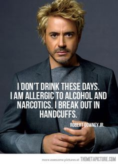 funny photos, Robert Downey jr, break out in handcuffs Robert Downey Jr., Robert Downey Jr Young, I Smile, Make Me Smile, Iowa, Hawkeye, Jm Barrie, The Meta Picture, Funny Quotes