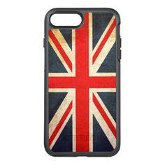 #vintage - #Vintage Union Jack British Flag OtterBox Symmetry iPhone 7 Plus Case