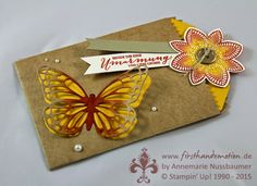 Stampin' Up! by First Hand Emotion: Schmetterlingsgruss