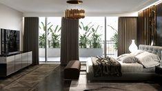Penthouse Art Deco modern, Asmita Gardens, București - Creativ-Interior Art Deco, Gardens, Concept, Curtains, Bed, Creative, Modern, Furniture, Design