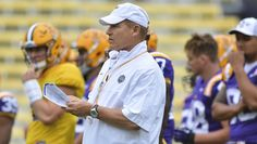 LSU head coach Les Miles is looking forward to his first ever trip to historic…