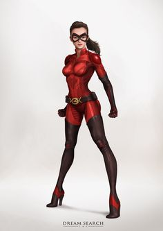 Yong-Jae Park on Behance Baby Superhero, Female Superhero, Superhero Characters, Superhero Design, Comic Book Characters, Comic Character, Female Characters, Character Concept, Marvel Girls
