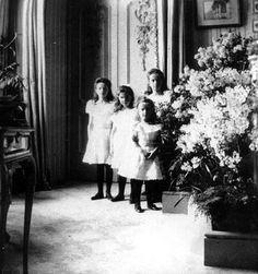 Olga, Tatiana, Marie and Anastasia