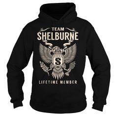 (Tshirt Cool Gift) Team SHELBURNE Lifetime Member Last Name Surname T-Shirt Tshirt-Online Hoodies Tees Shirts