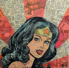 Wonder Woman | 11 Rad Comics Collages You Must See
