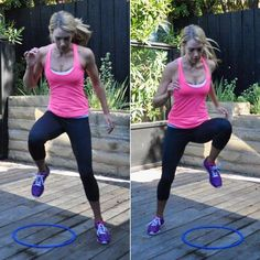 Did you know high knees works your abs too? Cardio + core = yes!