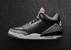 8c062cff2 Black Cement Air Jordan 3 OG Jordan Retro 3