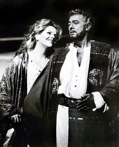Otello - Domingo and Fleming, 1995 Metropolitan Opera House