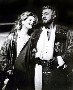Otello - Domingo and Fleming, 1995 Metropolitan Opera House