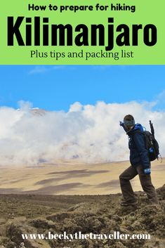 Everything you need to know to prepare to climb Kilimanjaro. Plus full packing list what to take on the climb, useful hints and tips to reach the summit. #AfricaTravelPacking