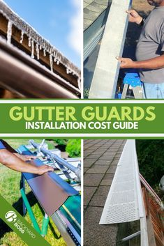 Like a lot of home improvement projects, gutter guards can be one of those things that's either extremely simple to DIY or literally impossible to handle without professional installers. The good news is that our guide covers the whole gamut, from inexpensive mesh you can pop in on a weekend morning to the proprietary systems that can't be self-installed at all. Get the average cost for your chosen materials and home size.