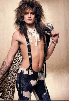 The 50 Hottest, Most Glamorous Photos Of Tommy Lee In The '80s