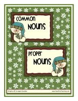 Common Nouns vs. Proper Nouns  FREE print out!