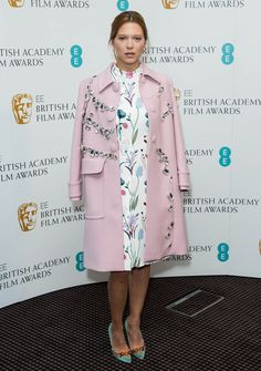 Lea Seydoux with embellishments! #TopshopPromQueen