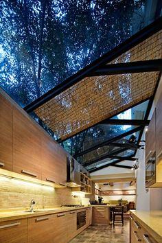 Open Air / Open Ceiling Kitchen