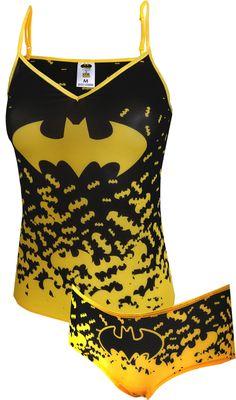 Dc Comics Batman Mesh Cami Panty Set for women (Small) * Check this awesome product by going to the link at the image. (This is an affiliate link) Batman Love, Batman And Batgirl, Batman Stuff, Pijama Batman, Vetement Hip Hop, Batman Wedding, Batman Outfits, Batman Shoes, Batman Dress