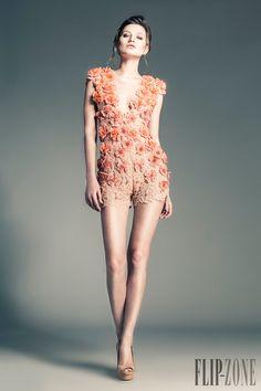 Jean Louis Sabaji Spring-summer 2013 - Couture - http://www.orientpalms.com/jean-louis-sabaji-4080
