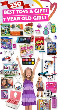 Tons Of Great Gift Ideas For 7 Year Old Girls