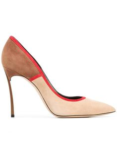3d60a81bbc Achetez Casadei escarpins tricolores en Eraldo from the world's best  independent boutiques at farfetch.com